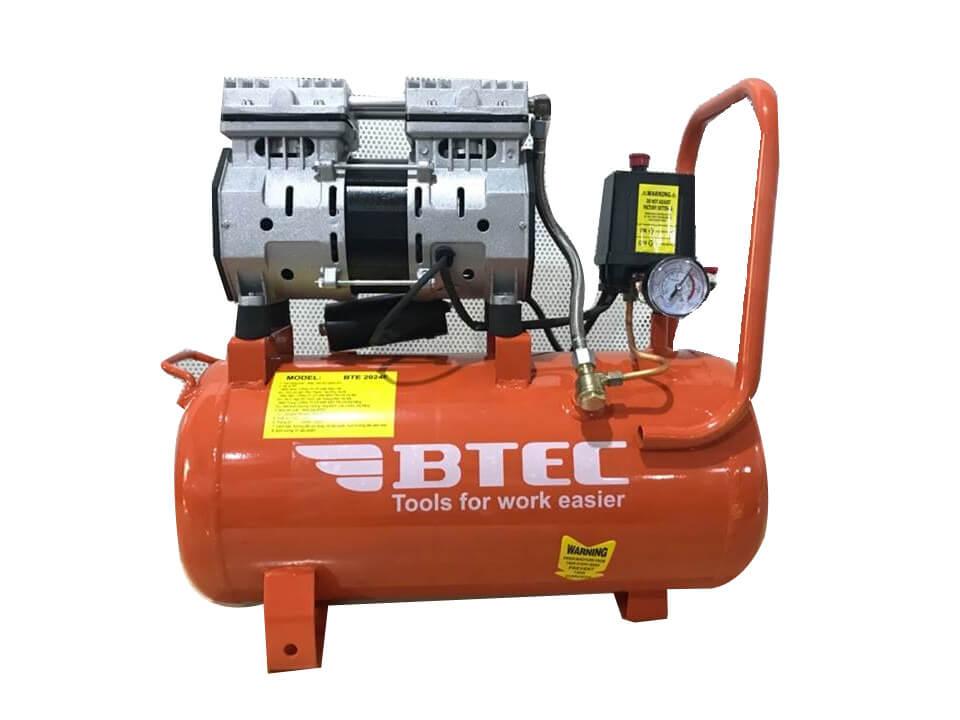 Máy nén khí không dầu BTEC BT-2024F - 24 lít