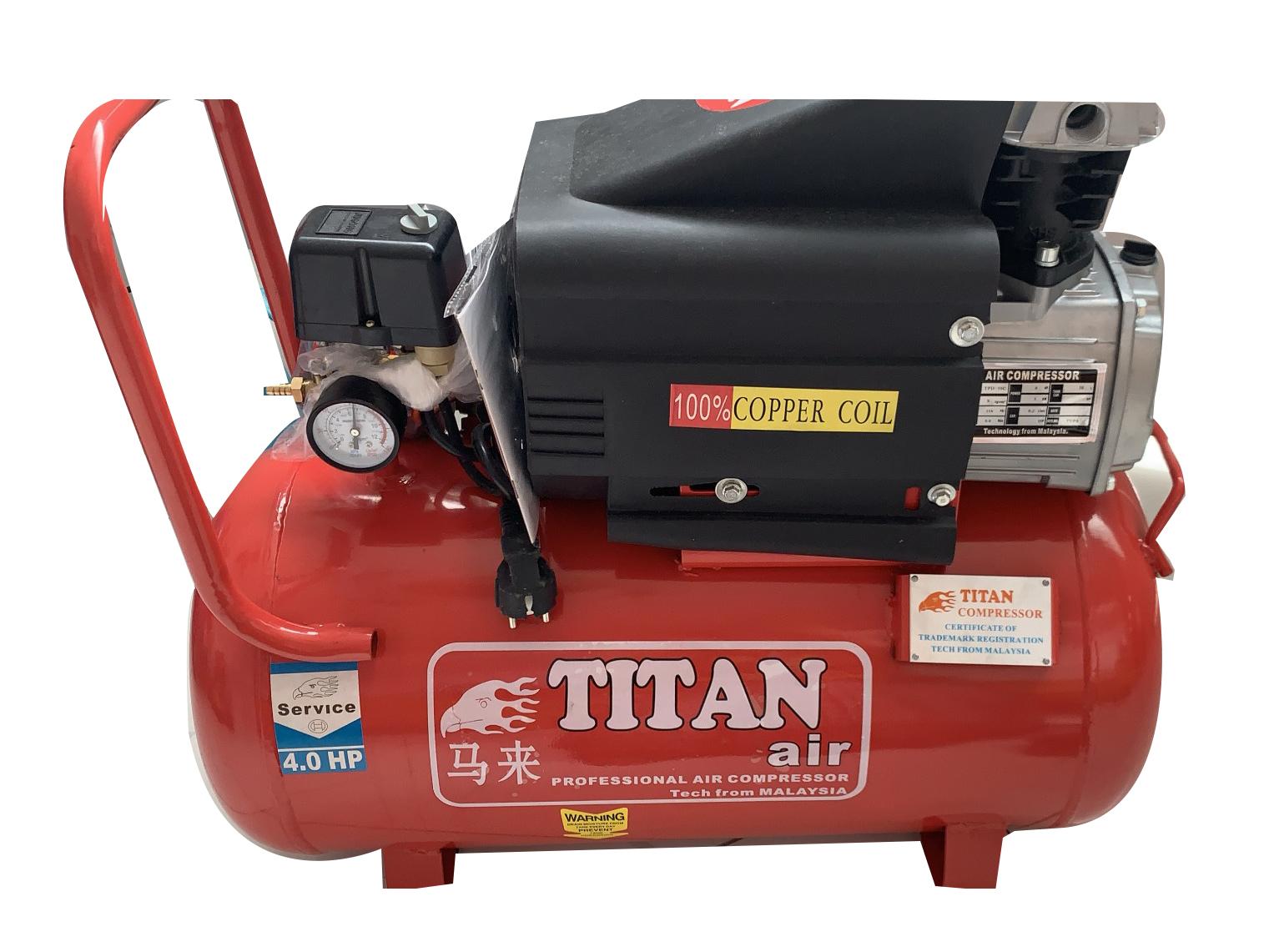 Máy nén khí Titan TPD-50C (4HP, 50 lít)