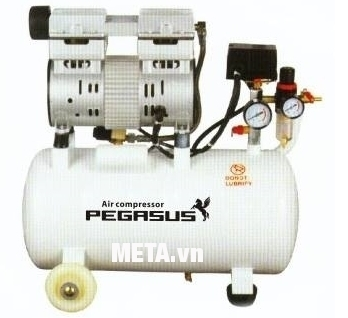Máy nén khí không dầu, giảm âm Pegasus TM-OF750-25L (1HP)