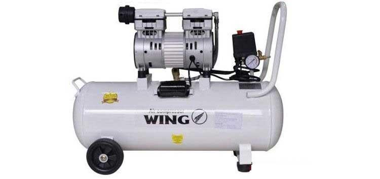 Máy nén khí không dầu 1HP Wing TW-OF750 35 lít