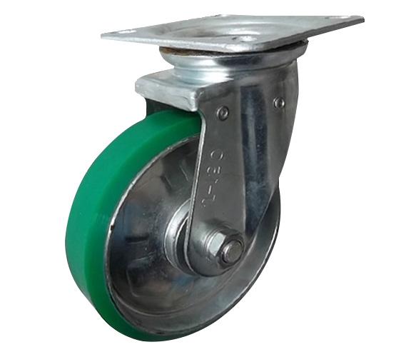 Bánh xe đẩy PU xoay Ethos 661PUZ075J01 (180kg)