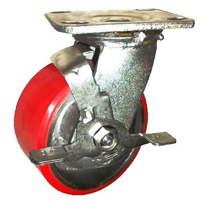 Bánh xe đẩy PU có khóa Ethos 494XUQ160P45 (430kg)