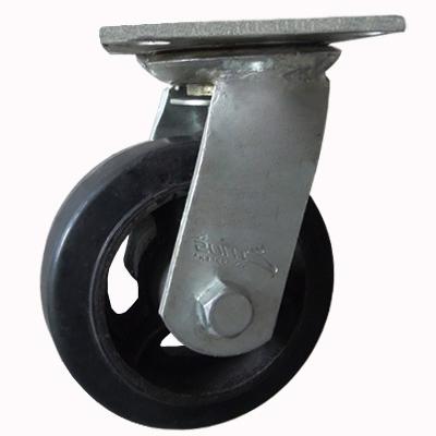 Bánh xe đẩy cao su xoay Ethos 491XRQ250P45
