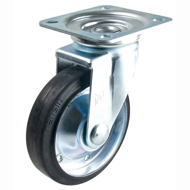 Bánh xe đẩy cao su xoay Nansin STM-150 VS (200kg)