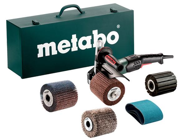 Máy đánh bóng Metabo SE 17-200 RT SET bao gồm bộ set