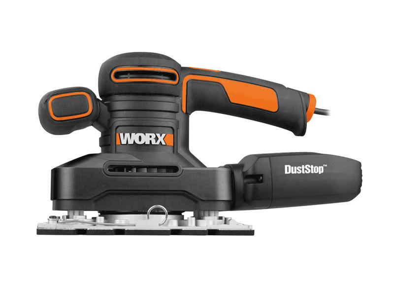 Máy chà nhám rung 250W Worx Orange WX641