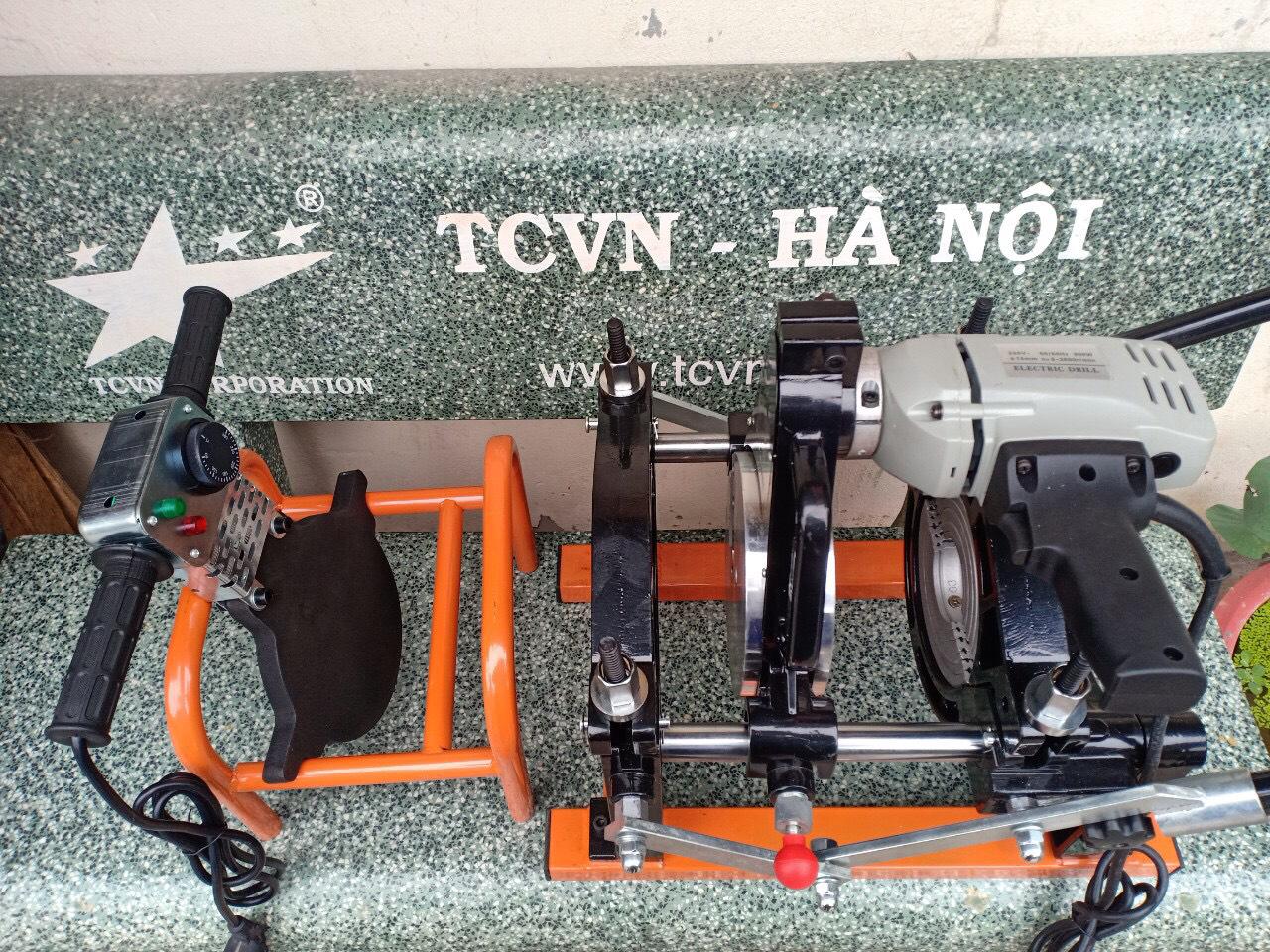 Máy hàn ống nhựa HDPE tay quay TCVN-HBF160