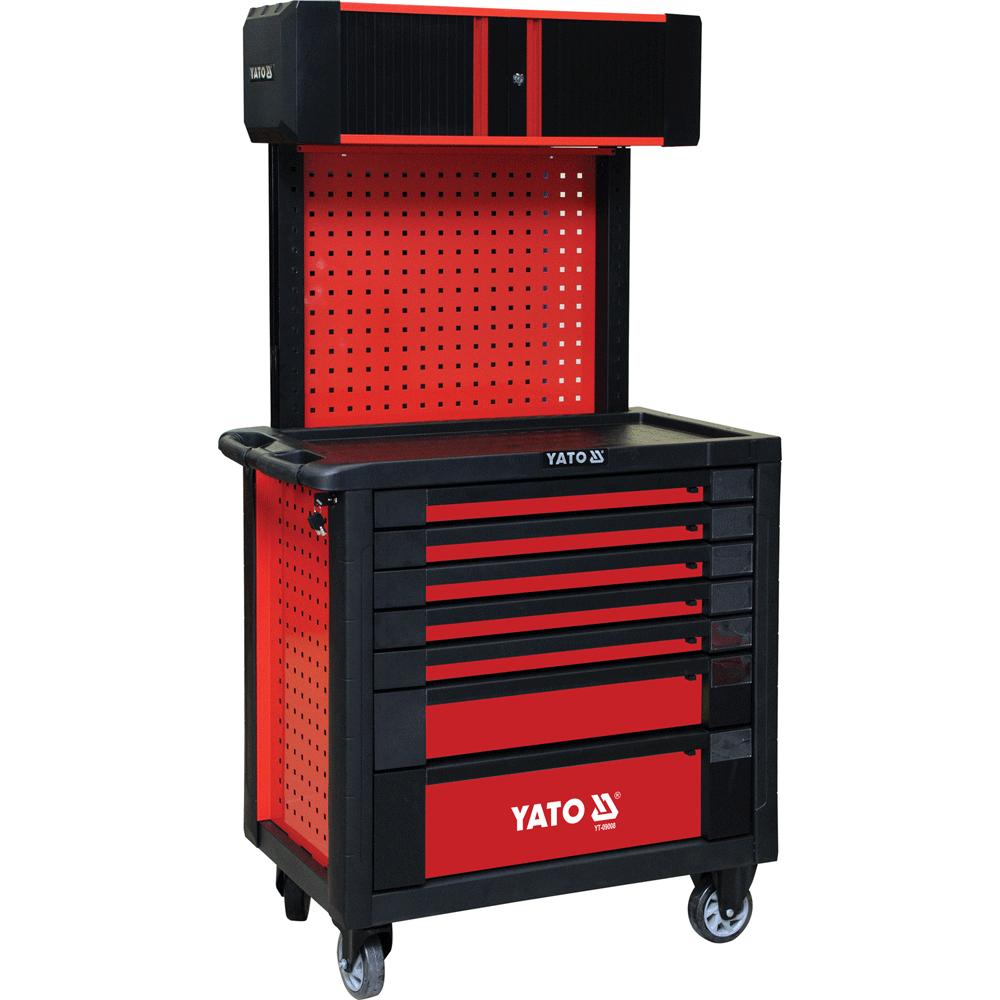 Tủ đựng đồ nghề cao cấp 7 ngăn có giá treo Yato YT-09008