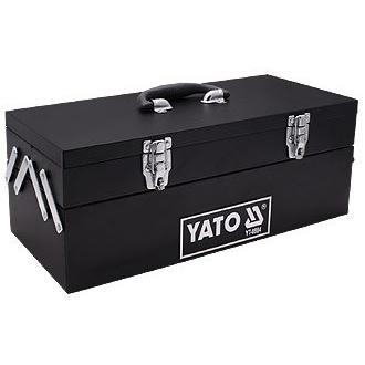 Hộp đựng đồ nghề bằng sắt, sơn tĩnh điện 3 ngăn Yato YT-0884