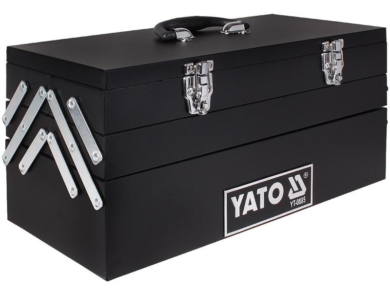 Hộp đựng đồ nghề bằng sắt sơn tĩnh điện 5 ngăn Yato YT-0885
