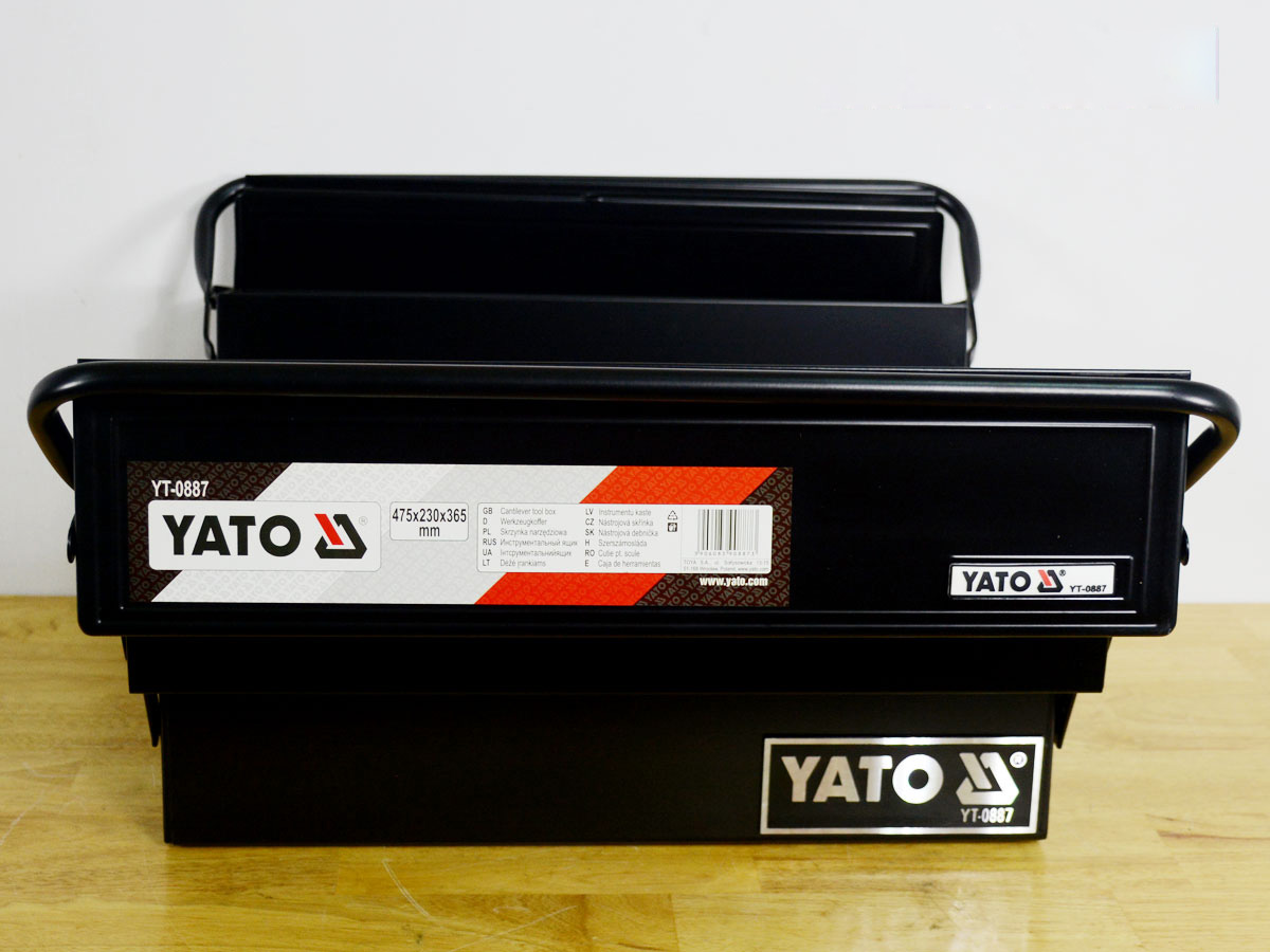 Hộp đựng đồ nghề sơn tĩnh điện 5 ngăn YATO YT0887