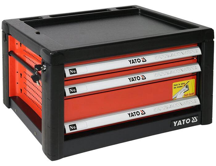 Tủ đựng đồ nghề Yato 3 ngăn YT-09151