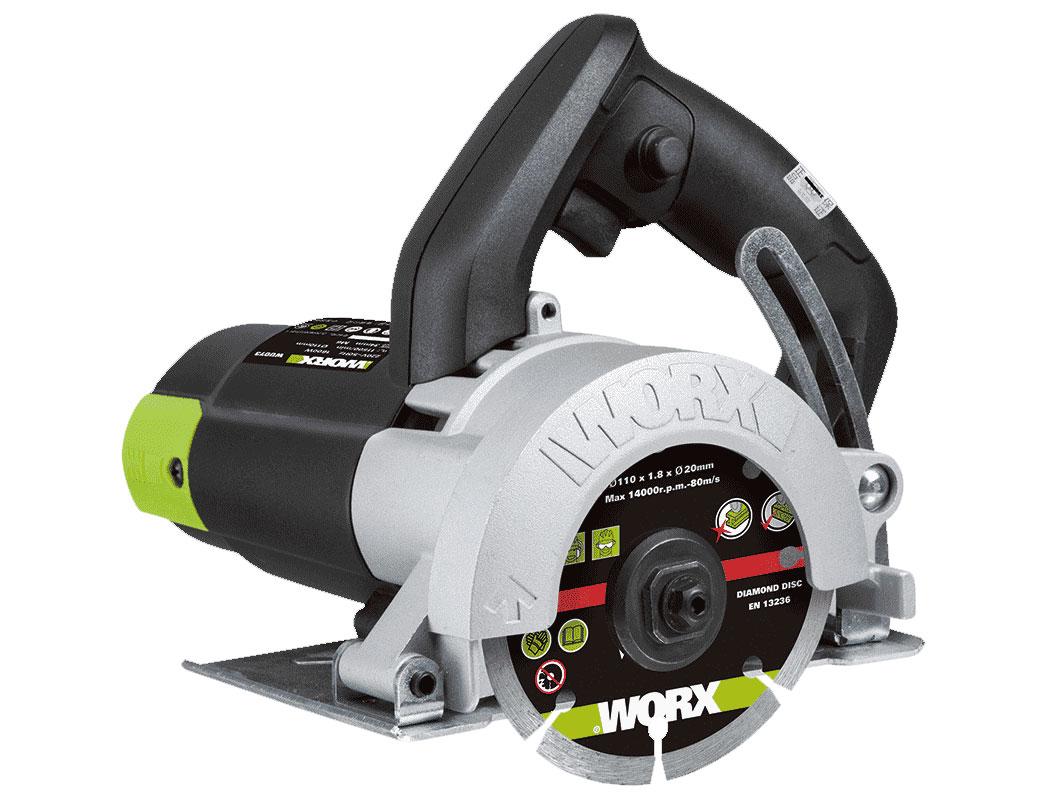 Máy cắt gạch 1600W 110mm Worx Green WU073