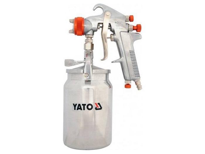 Súng phun sơn cốc bình dưới 1L/1.8mm Yato Yt-2346