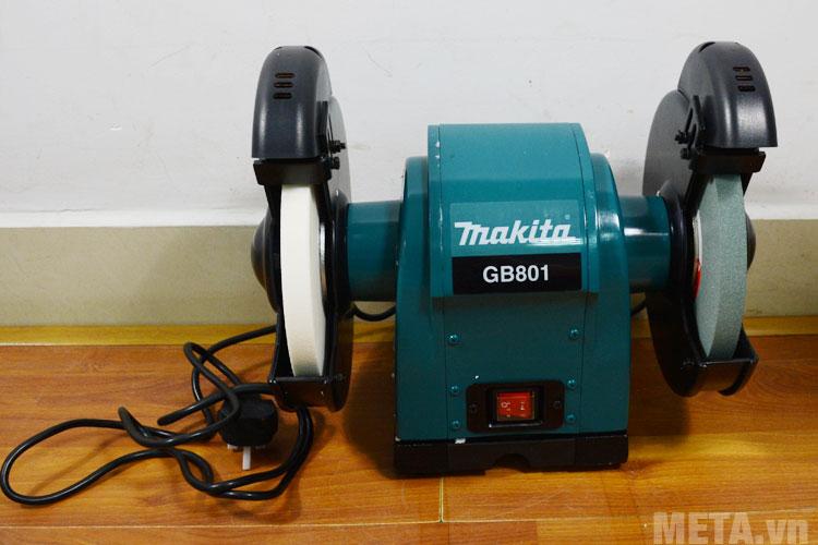 Máy mài hai đá Makita GB801 205mm