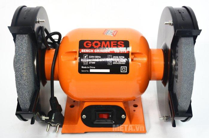 Máy mài 2 đá Gomes GB-375