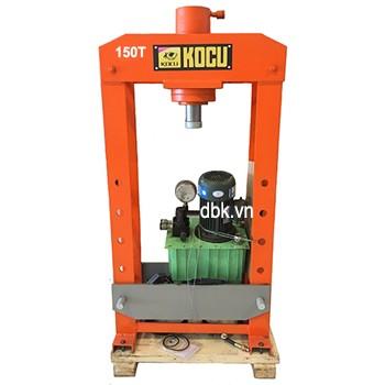 Máy ép thủy lực dùng điện có đồng hồ KOCU DMY-150T