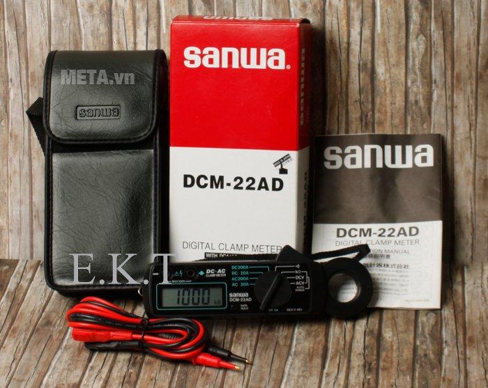 Ampe kìm Sanwa DCM-22AD