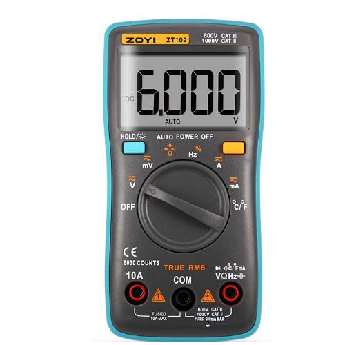 Đồng hồ đo vạn năng Zoyi ZT 102