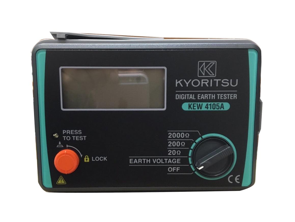 Máy đo điện trở đất Kyoritsu 4105A (20/200/2000Ω)