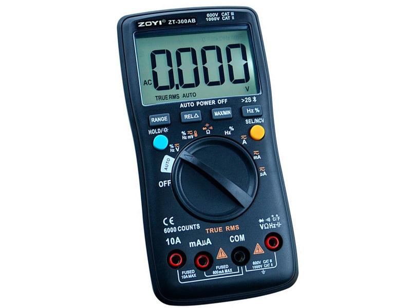 Đồng hồ vạn năng tự động Zoyi ZT 300AB
