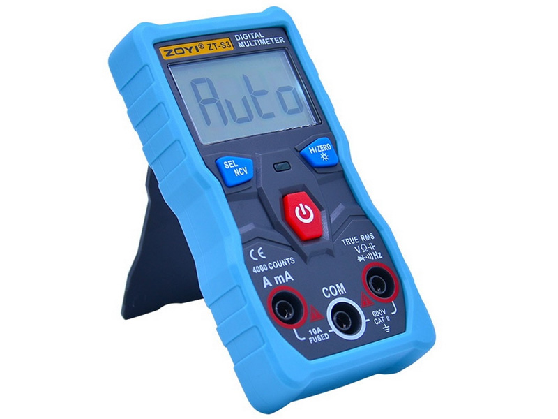 Đồng hồ đo điện tự động đa năng Zoyi ZT-S3 (True RMS)