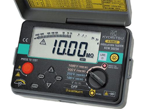 Đồng hồ đo điện trở cách điện Kyoritsu Kew 3023A