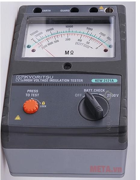 Máy đo điện trở cách điện Kyoritsu 3121