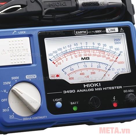 Máy đo điện trở cách điện Hioki 3490