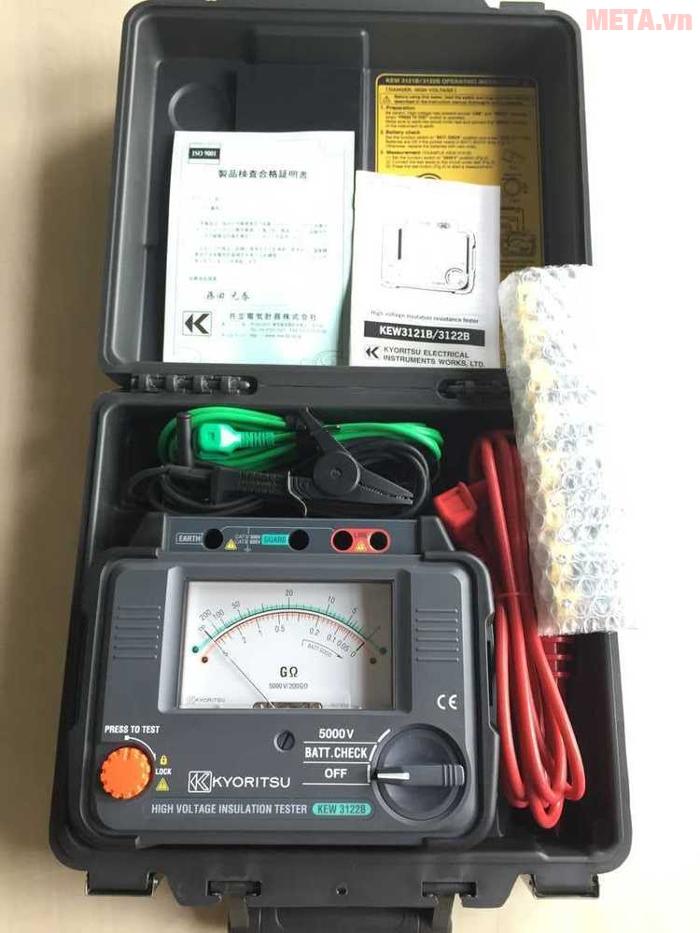 Máy đo điện trở cách điện Kyoritsu 3122B