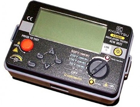 Máy đo điện trở cách điện Kyoritsu 3022