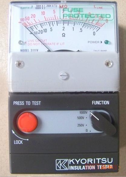 Máy đo điện trở cách điện Kyoritsu 3111V