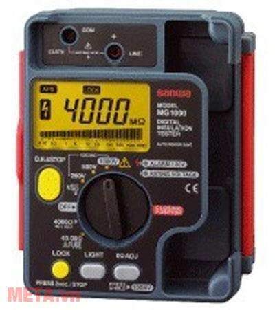 Đồng hồ đo điện trở cách điện Sanwa MG1000