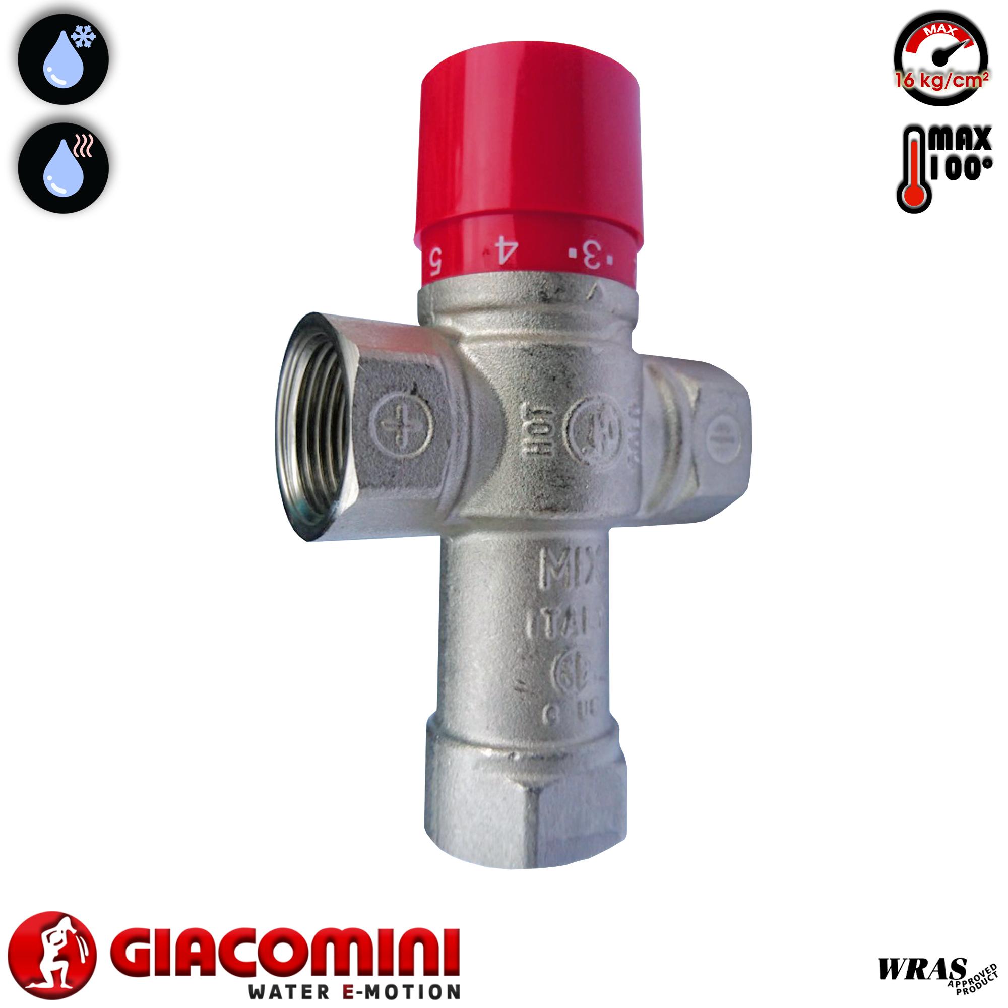 Van an toàn nhiệt Giacomini R156