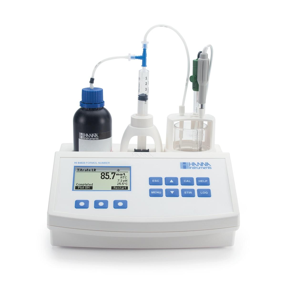 Thiết bị mini phân tích nồng độ formol trong rượu và nước hoa quả HI84533