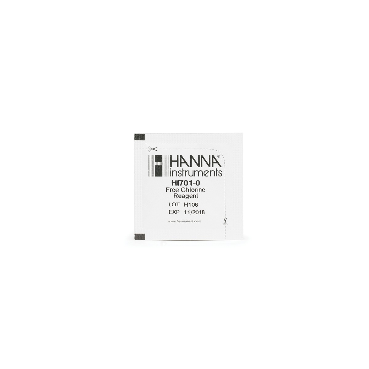 Thuốc Thử Cho Checker Clo Dư HI701, 25 Lần Đo HI701-25