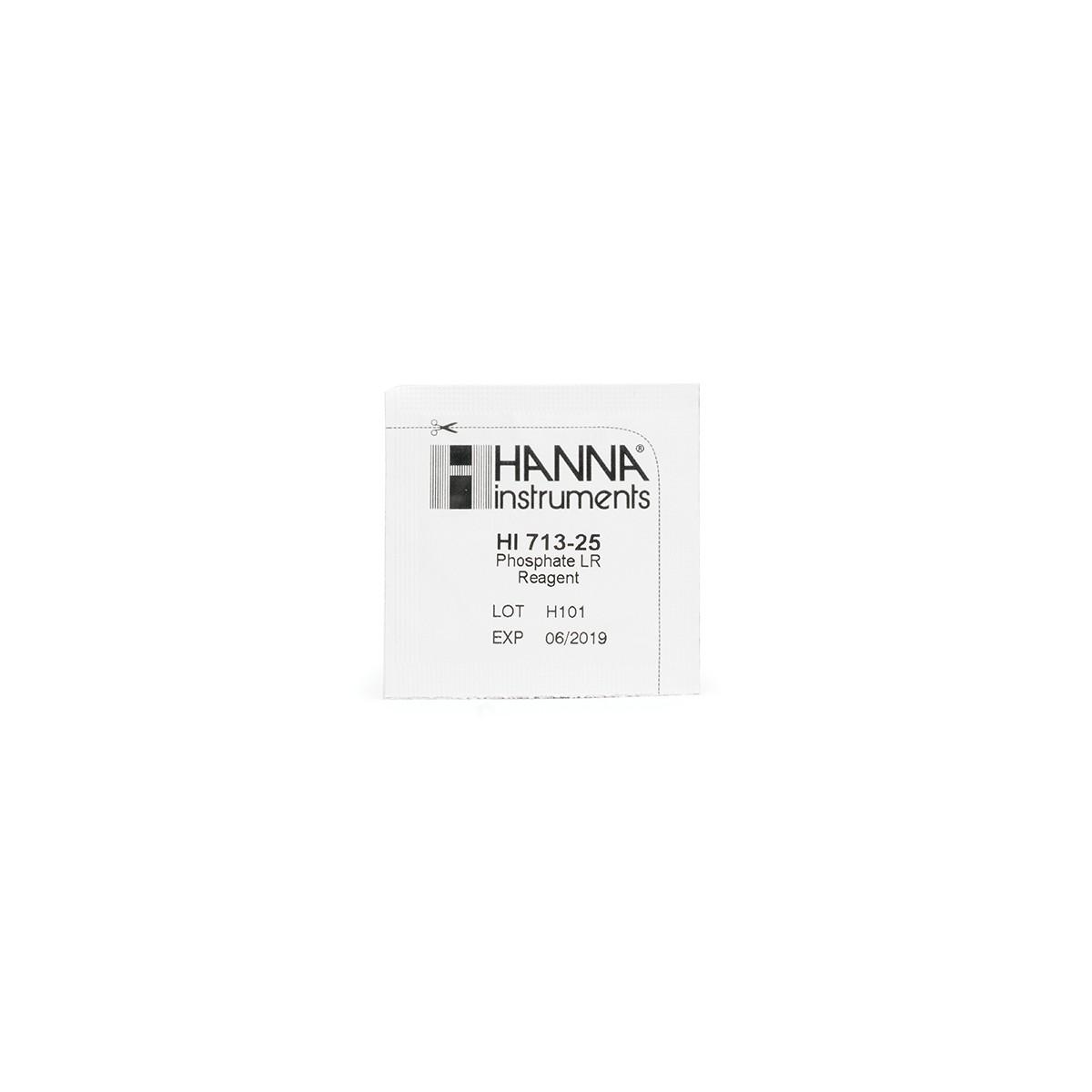 Thuốc Thử Photphat Thang Thấp, 25 gói HI713-25