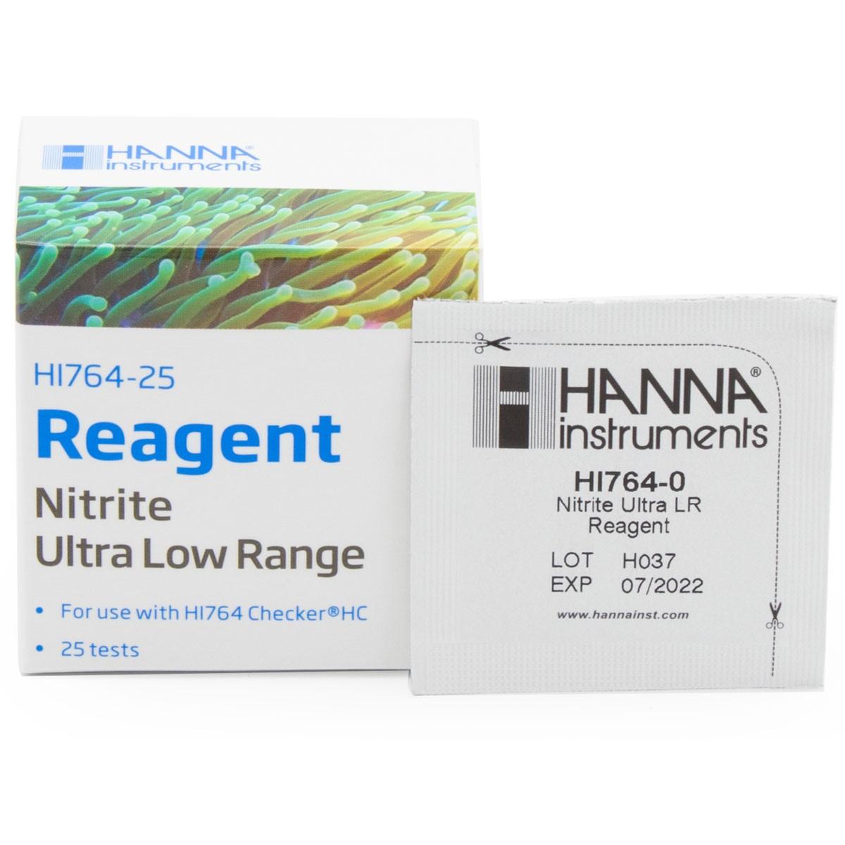 Thuốc Thử Nitrit ULR Cho Checker HI764, 25 lần HI764-25