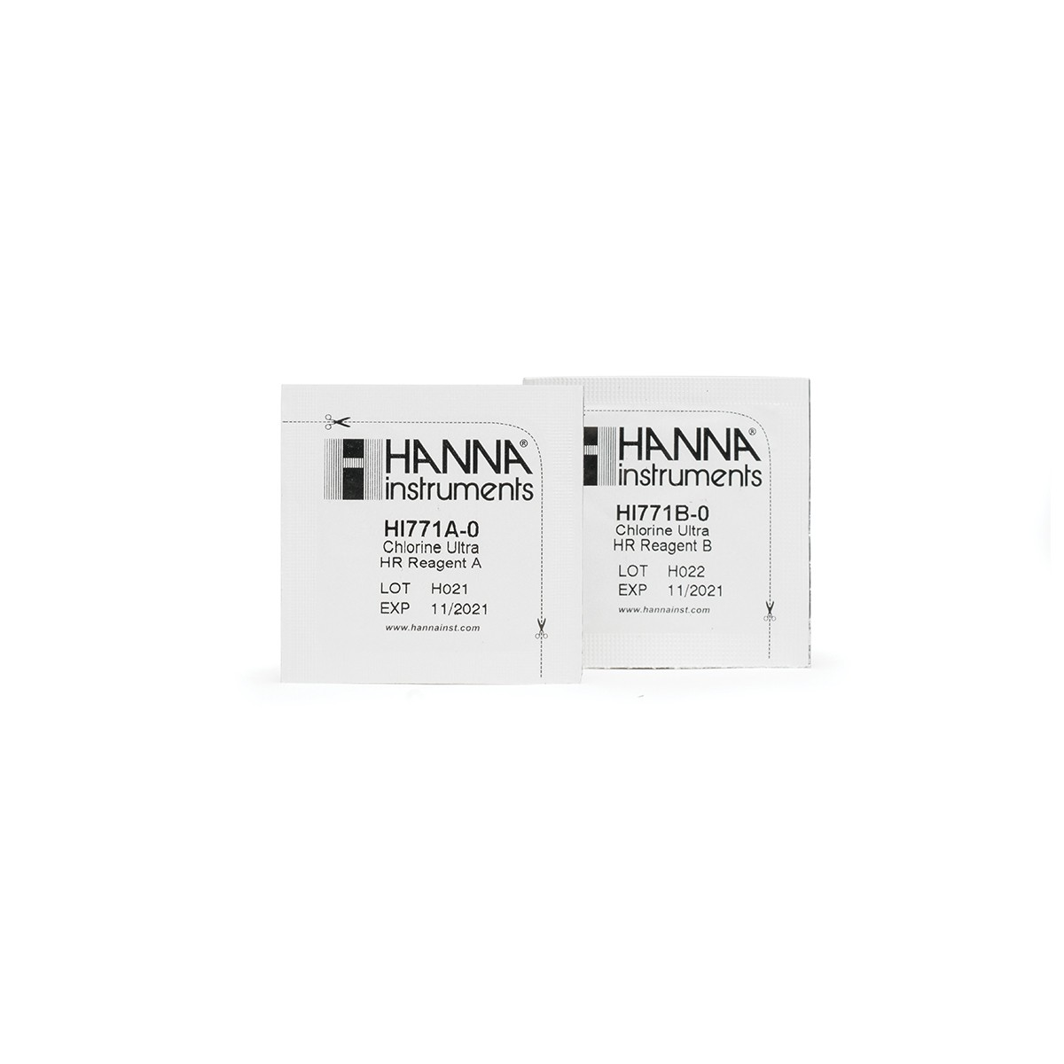 Thuốc Thử Clo HR Cho Checker HI771, 25 lần HI771-25