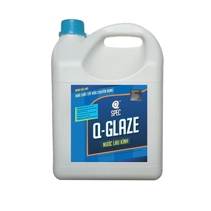 Q SURFACE Pro Nước lau kínhQ GLAZE - Can 4L