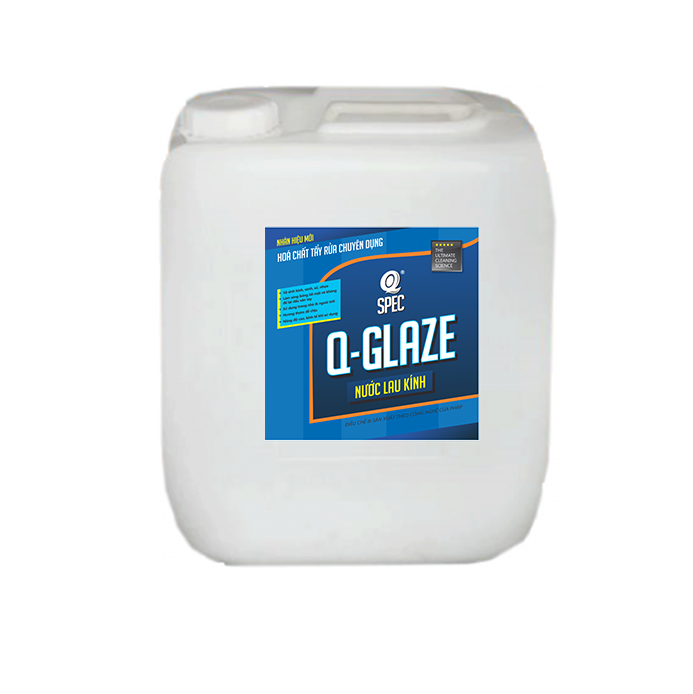Q SURFACE Pro Nước lau kínhQ GLAZE - Can 20L