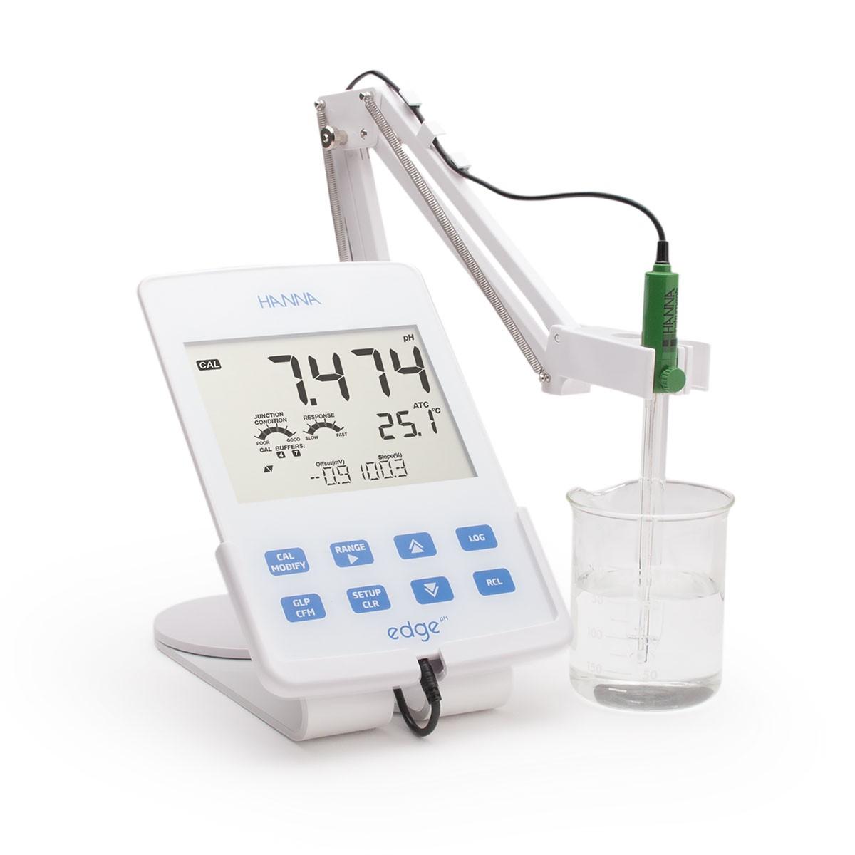 edge® đơn chỉ tiêu - Máy Đo pH/ORP/Nhiệt Độ HI2002-02