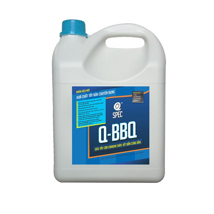 Q KITCHEN Pro Tẩy cặn carbon cháyQ BBQ - Can 4L