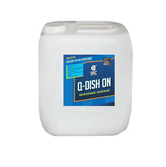 Q KITCHEN Pro Nước rửa chén - cho máy rửa chénQ DISH ON - Can 20L