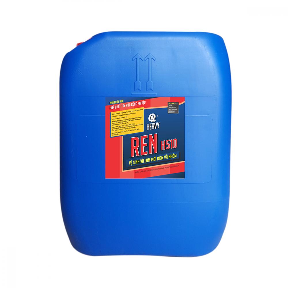 Dung dịch vệ sinh và làm mới inox và nhôm REN H510 - Can 30L
