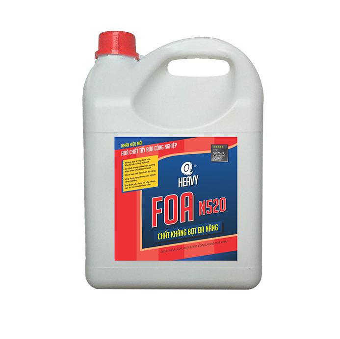 Hóa chất kháng bọt đa năng FOA N520 - Can 4L