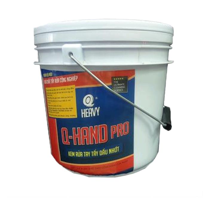 Q HAND Pro Kem rửa tay tẩy dầu nhớt - Thùng 4 can 4L (không có vòi nhấn)