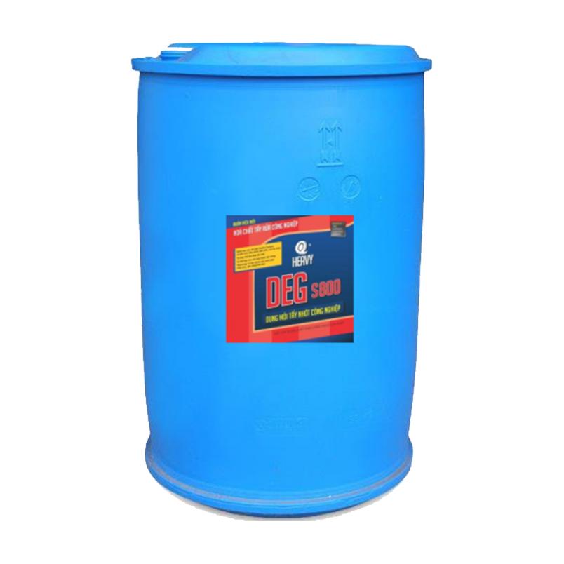 Dung môi tẩy nhớt công nghiệp DEG S800 - Phuy 200L