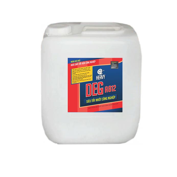 Hóa chất tẩy nhớt công nghiệp DEG A812 - Can 20L