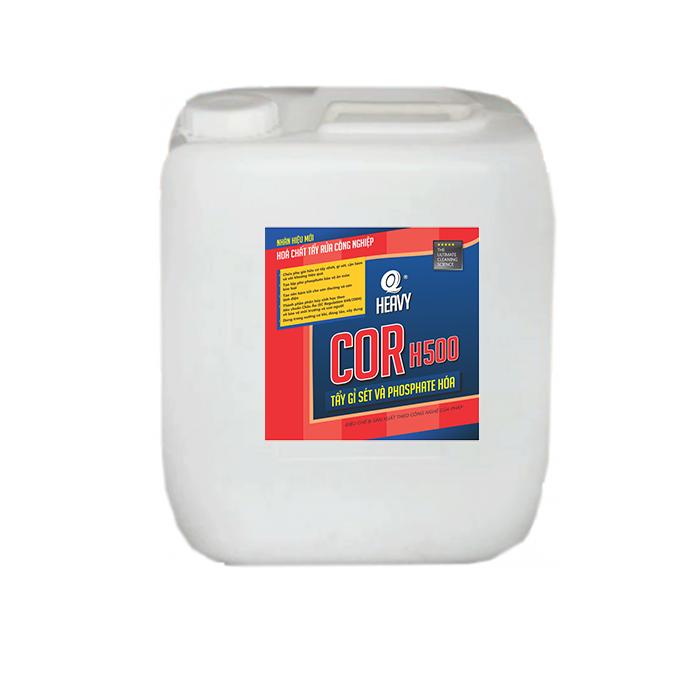 Dung dịch tẩy gỉ sét và phostphate hóa COR H500 - Can 20L